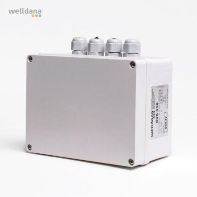 Elboxsystem 6 Pump/V.fläkt/Belysning
