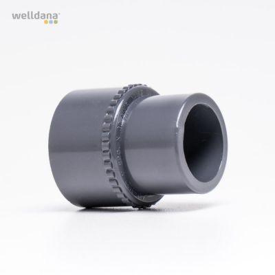 PVC muffe 32 x 33mm US