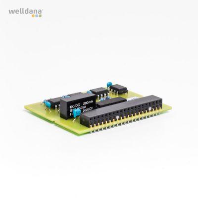 PC-programvara m. gränssnitt f. anslutning av poolman/Analyt Netto.