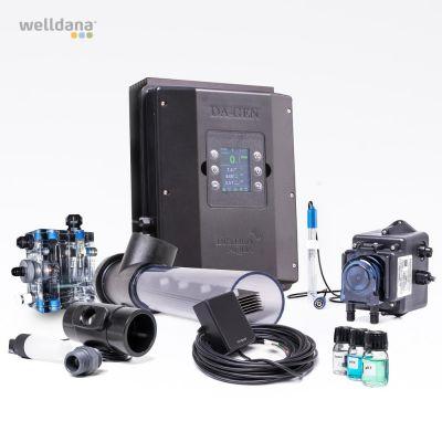 DA-GEN 90 FC Komplett sats ej monterad. u. filter