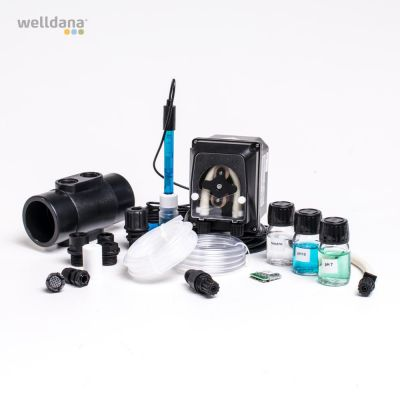 PH-sats till KLX med sensor och doseringspump