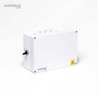 Welldana® poolstyrenhet 1 x 230 inkl. temperatursensor.