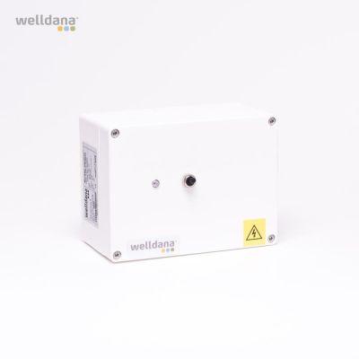 Welldana® nivåkontroll. 230 V Säkerhetssystem. Är utan sensor.