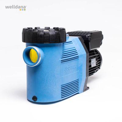 Badu 90 Eco VS, blå/svart 230 V. 1,10 kW. 3 hastigheter