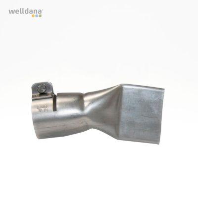 Brett slitsmunstycke 40 mm. 22½°