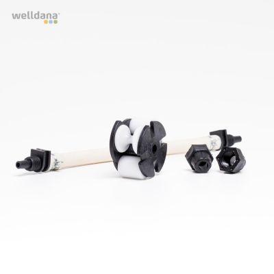 Rep. sats t/peristaltisk pump (slang + drivhjul), 1 + 3 liter
