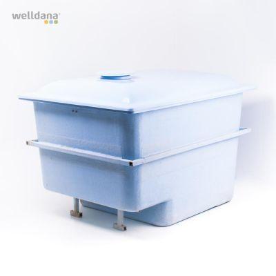 Teknikbox t. nedgrävning 145 x 111 x 107 cm/glasfiber