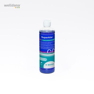 Superklar 0,5 liter T/patronfilter