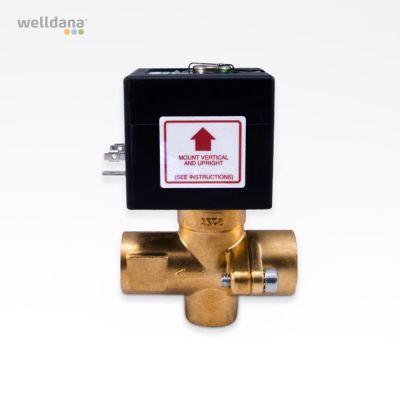 Magnetventil för automatisk tömning av generatorn.