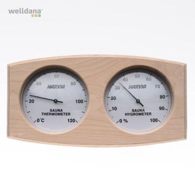 Termo/hygrometer träram