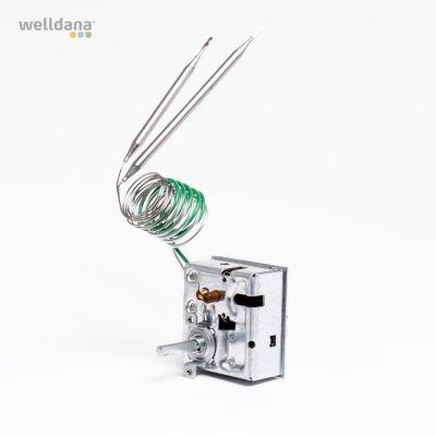 Termostat/överhettningssäkring. kombi till bastuaggregat m/inb. styrning