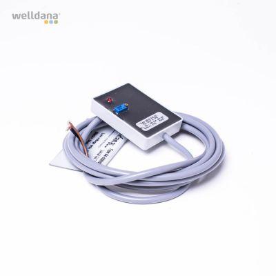 Kapacitiv nivåsensor. 12 V. Sensor MHE-NS-2D H7-208