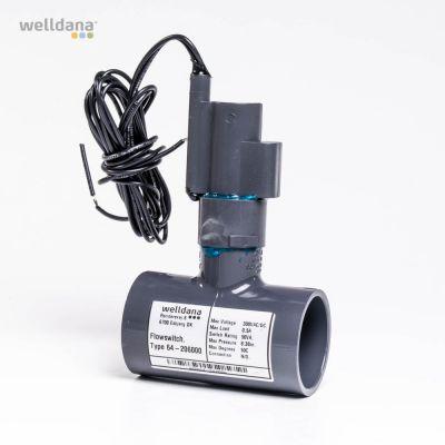 Aqualarm, 48 mm flödesbrytare Endast till låga volt.
