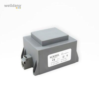 Welldana® spatransformator 60 VAC 230/12 V, IP25