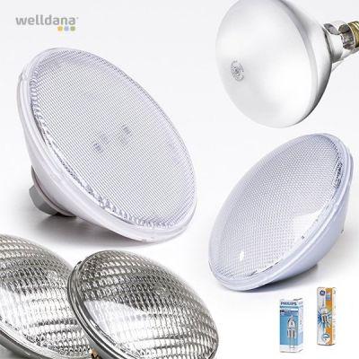 Poolglödlampor (LED och halogen)