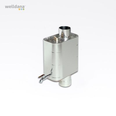 Harvia Vandvarmer, rørmodel 22L Stål, 22L, 19.0x35.5x41.0cm, ikke til harvia 50